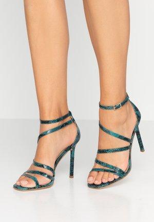 OSSIAN - Sandales à talons hauts - blue
