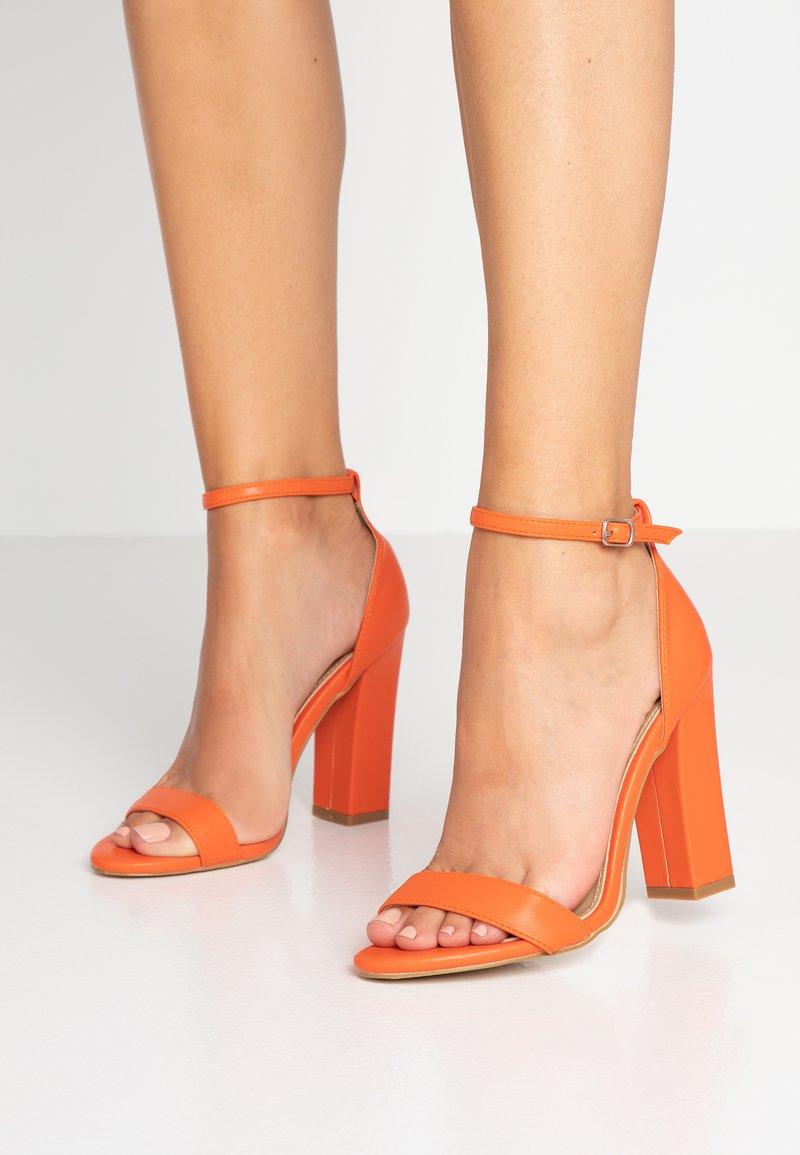 BEBO - Sandály na vysokém podpatku - orange