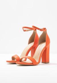 BEBO - Sandály na vysokém podpatku - orange - 4