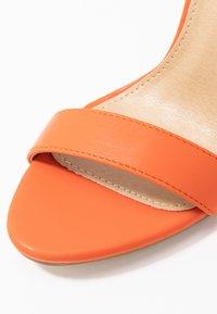 BEBO - Sandály na vysokém podpatku - orange - 2