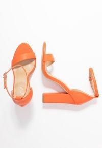 BEBO - Sandály na vysokém podpatku - orange - 3