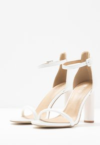 BEBO - CLAIRE - High heeled sandals - white - 4