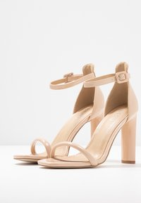 BEBO - CLAIRE - Sandaler med høye hæler - nude - 4