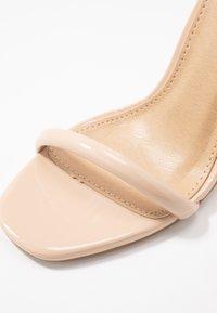 BEBO - CLAIRE - Sandaler med høye hæler - nude - 2