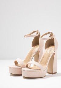 BEBO - LUCY - Sandály na vysokém podpatku - nude - 4