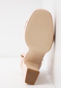 BEBO - LUCY - Sandály na vysokém podpatku - nude - 6