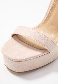 BEBO - LUCY - Sandály na vysokém podpatku - nude - 2