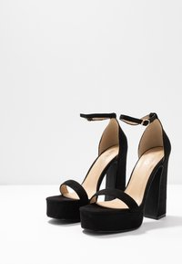 BEBO - LUCY - Sandály na vysokém podpatku - black - 4