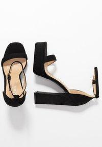 BEBO - LUCY - Sandály na vysokém podpatku - black - 3