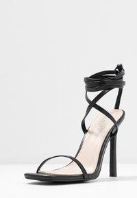 BEBO - MIYA - Korolliset sandaalit - black - 4