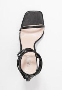 BEBO - MIYA - Korolliset sandaalit - black - 3