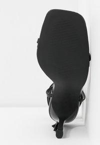 BEBO - MIYA - Korolliset sandaalit - black - 6