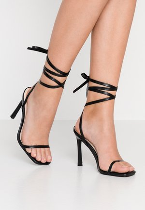 MIYA - High heeled sandals - black