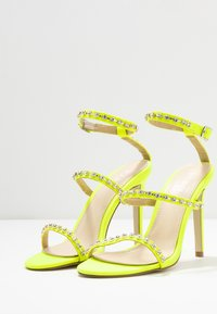 BEBO - SOPHINA - High heeled sandals - neon green - 4