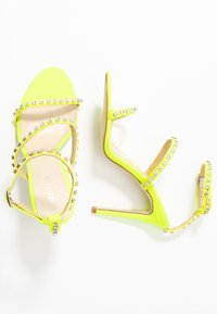 BEBO - SOPHINA - High heeled sandals - neon green - 3