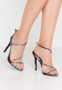 BEBO - ZION - High heeled sandals - blue/multicolor - 0