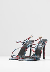 BEBO - ZION - High heeled sandals - blue/multicolor - 4