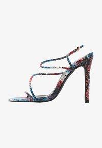 BEBO - ZION - High heeled sandals - blue/multicolor - 1