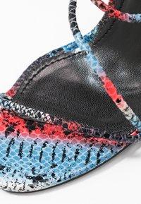 BEBO - ZION - High heeled sandals - blue/multicolor - 2