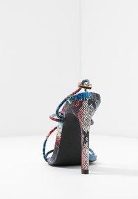 BEBO - ZION - High heeled sandals - blue/multicolor - 5