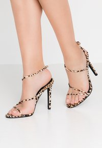 BEBO - ZION - High heeled sandals - brown - 0