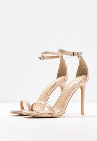 BEBO - LISA - Sandaler med høye hæler - nude - 4