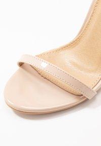 BEBO - LISA - Sandaler med høye hæler - nude - 2
