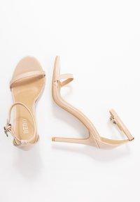 BEBO - LISA - Sandaler med høye hæler - nude - 3