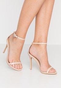 BEBO - LISA - Sandaler med høye hæler - nude - 0