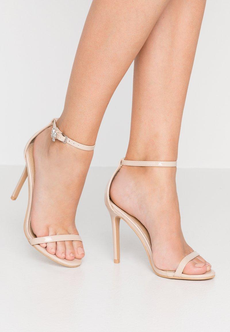 BEBO - LISA - Sandales à talons hauts - nude