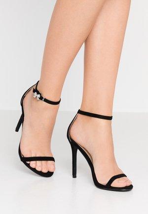 LISA - Sandaler med høye hæler - black