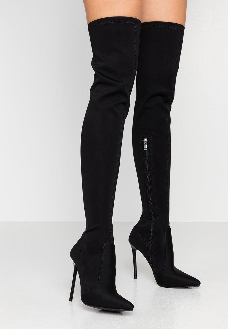 BEBO - RAFIA - High heeled boots - black