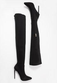 BEBO - RAFIA - High heeled boots - black - 3
