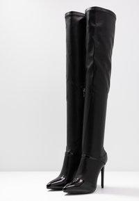 BEBO - OLERIA - Boots med høye hæler - black - 4