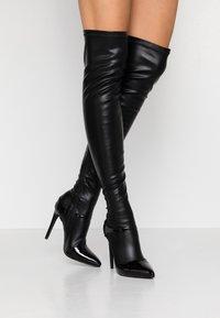BEBO - OLERIA - Boots med høye hæler - black - 0