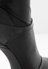 BEBO - OLERIA - Boots med høye hæler - black - 2