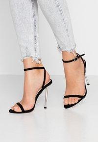 BEBO - AIVY - High heeled sandals - black - 0
