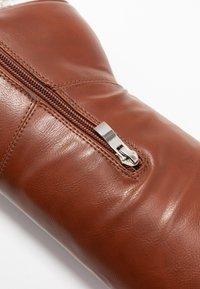 BEBO - DELTA - High heeled boots - tan - 2