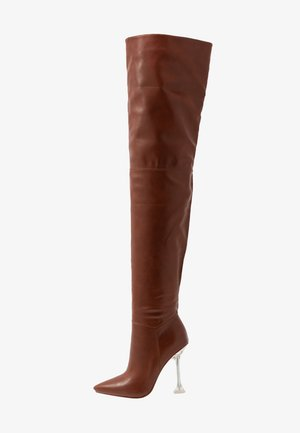 DELTA - High heeled boots - tan