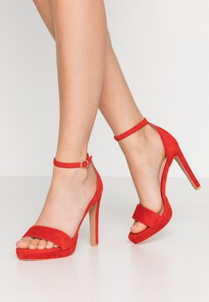 CIMONA - High Heel Sandalette - red