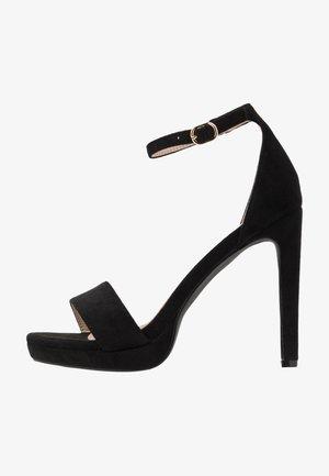 CIMONA - Korolliset sandaalit - black