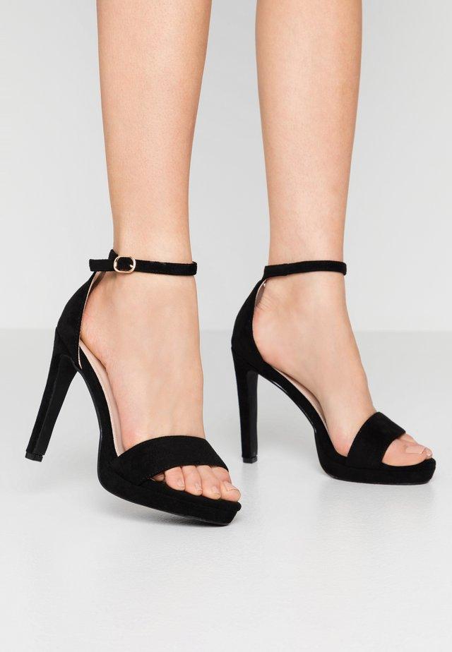 CIMONA - Sandalen met hoge hak - black