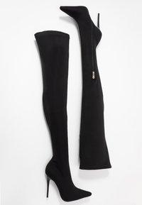BEBO - OLENYA - Kozačky na vysokém podpatku - black - 3