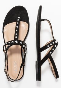 BEBO - MORA - Sandály s odděleným palcem - black - 3