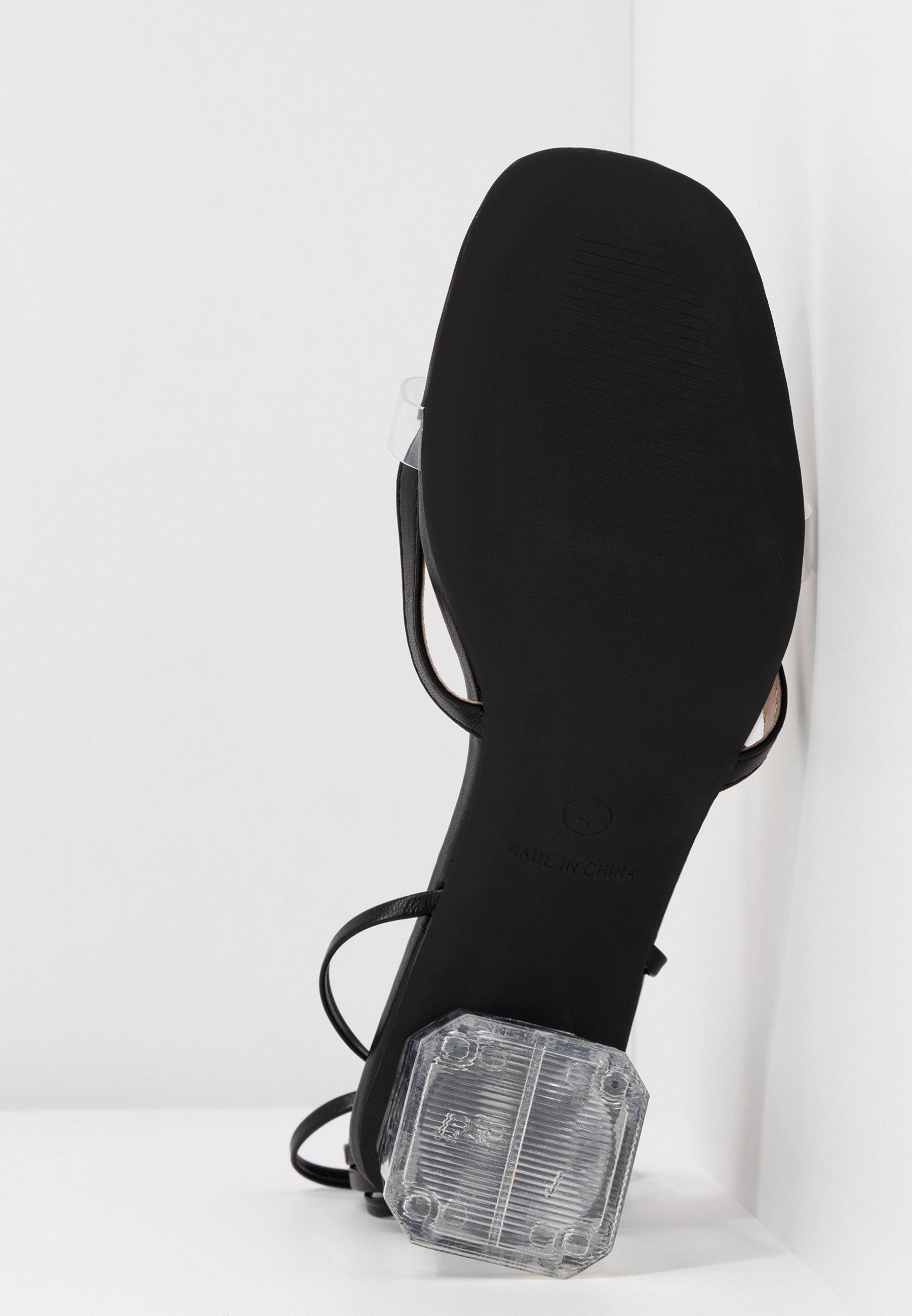 BEBO DESIRE - Sandaler - clear/black
