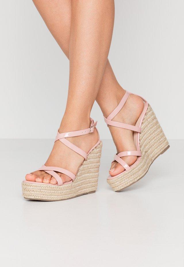 FARRAH - Sandaler med høye hæler - blush
