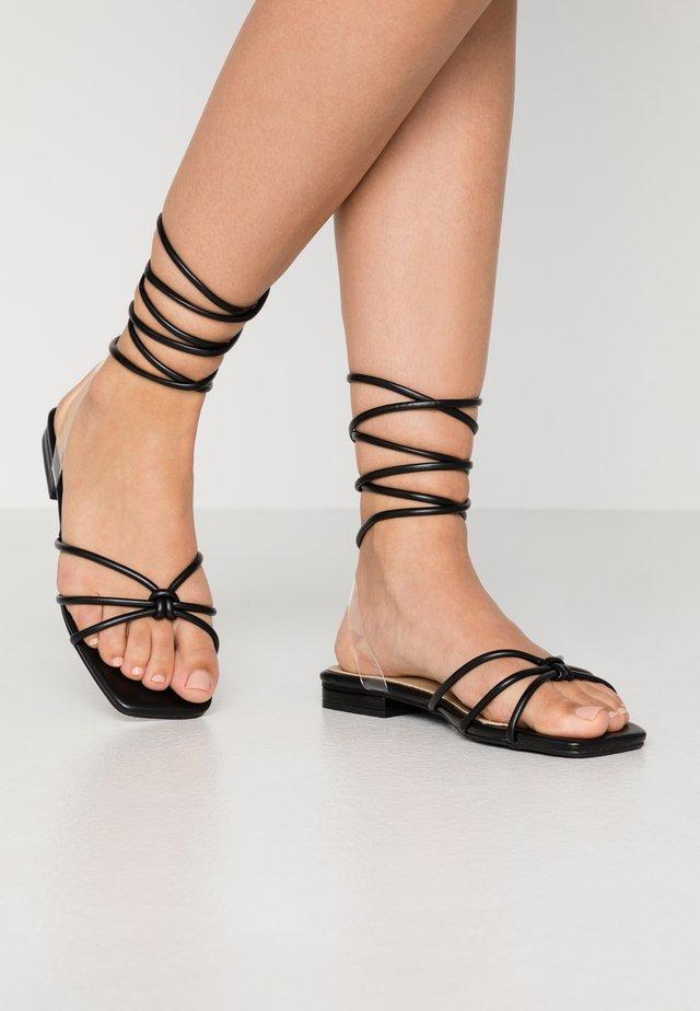 HIBA - Sandales - black