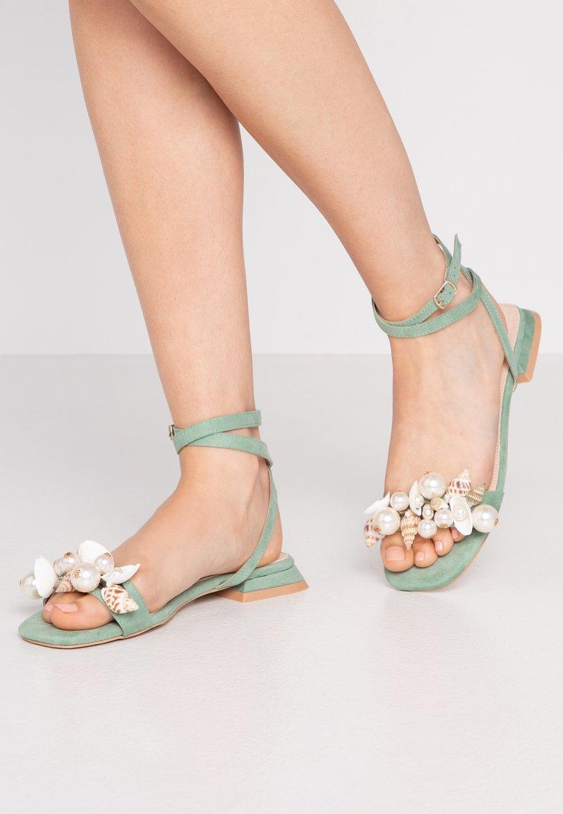 BEBO - ISABEL - Sandály - mint green