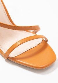 BEBO - HAMPTON - High heeled sandals - dark coral pu - 2