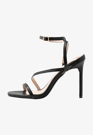 HAMPTON - High heeled sandals - black